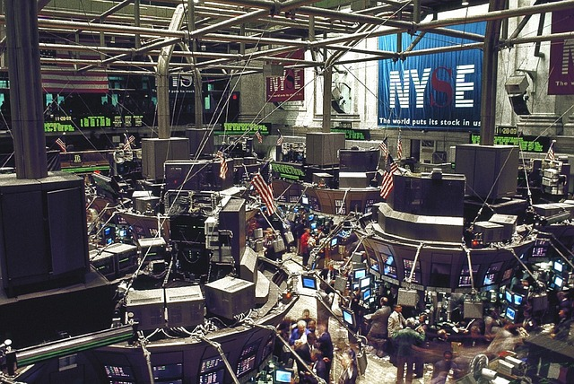 burza cenný papírů